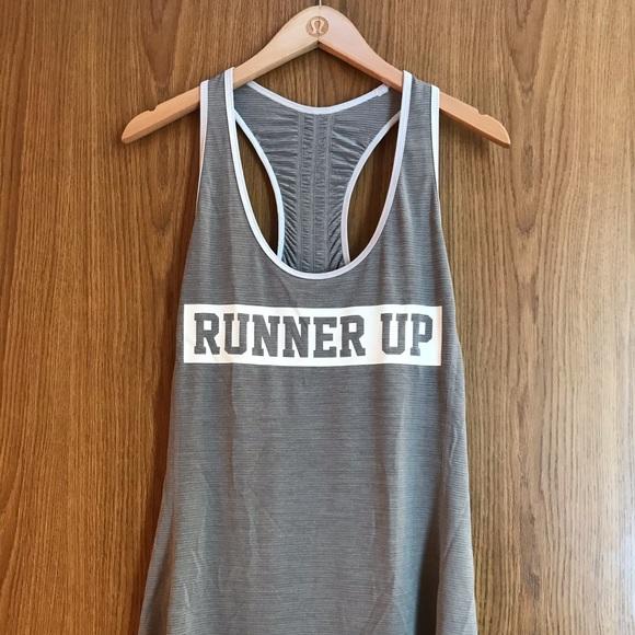 lululemon athletica Tops - Lululemon Runner Up Tank Size 10